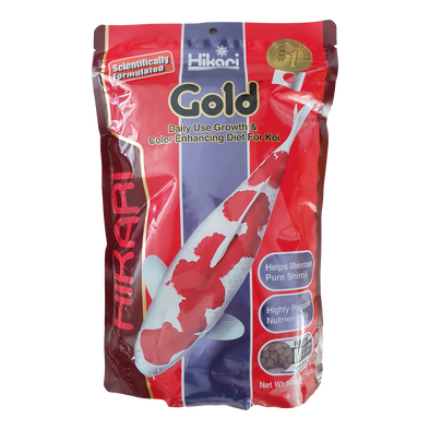 Hikari Gold Koi Pellets | Medium Floating Pellets | 500G - RBM Aquatics