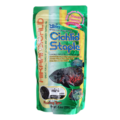 Hikari Cichlid Staple | Mini Floating Pellets | 250G - RBM Aquatics