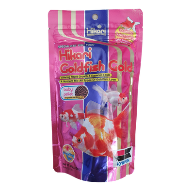 Hikari Goldfish Gold | Baby Floating Pellets | 100G - RBM Aquatics
