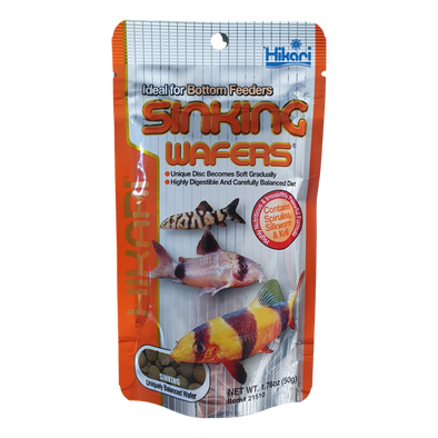 Hikari Sinking Wafers | Medium Pellets | 50G - RBM Aquatics