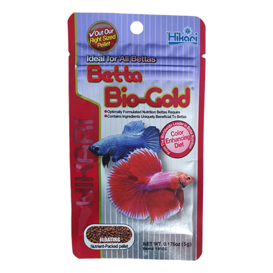 Hikari Betta Bio-Gold Baby | Mini Floating Pellets | 5G - RBM Aquatics