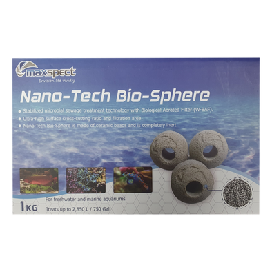 Maxspect Nano-Tech Bio-Sphere (Ball) 1Kg - RBM Aquatics