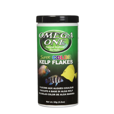 Omega One Super Kelp Flake 62g - RBM Aquatics
