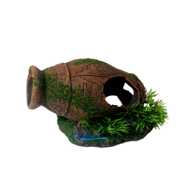 Urn Pot With Moss - RBM Aquatics