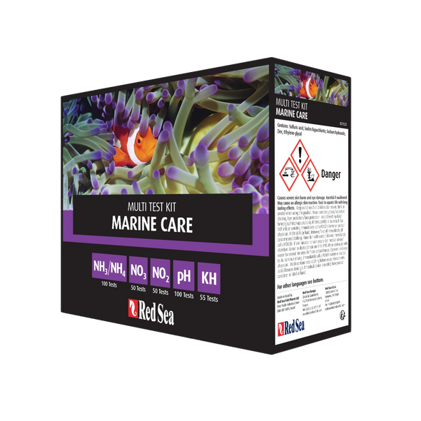 Red Sea Mcp Marine Care Test Kit - RBM Aquatics