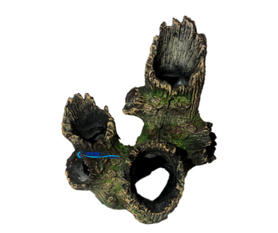 Resin Ornament Tree Stump - RBM Aquatics