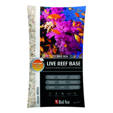 Red Sea Live Reef Base White 10Kg - RBM Aquatics