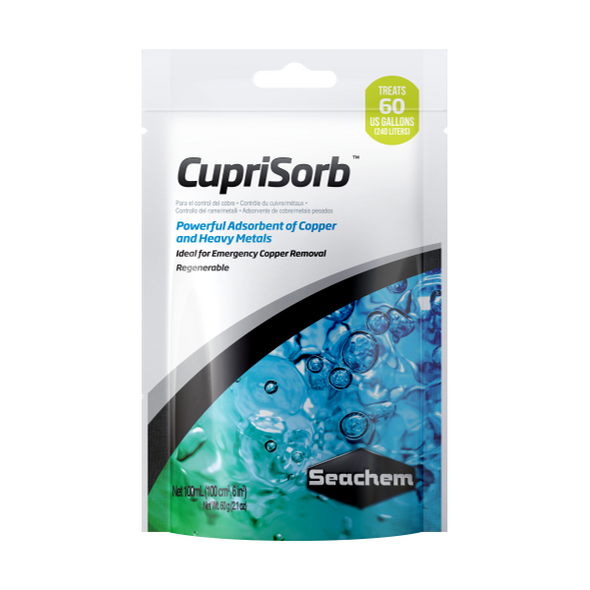 Seachem Cuprisorb 100Ml - RBM Aquatics
