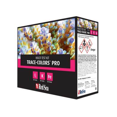 Red Sea Trace Colors Pro Multi Test Kit - RBM Aquatics
