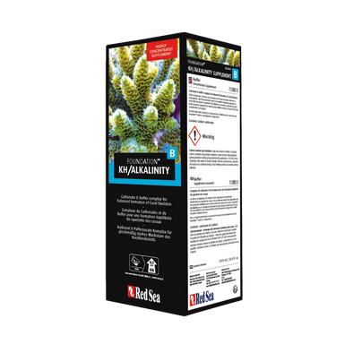 Red Sea Reef Foundation B KH/ALKALINITY 1L - RBM Aquatics