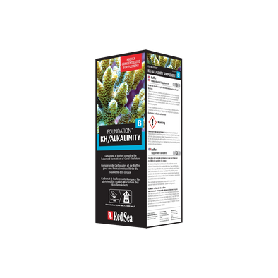 Red Sea Reef Foundation B KH/ALKALINITY 500ML - RBM Aquatics