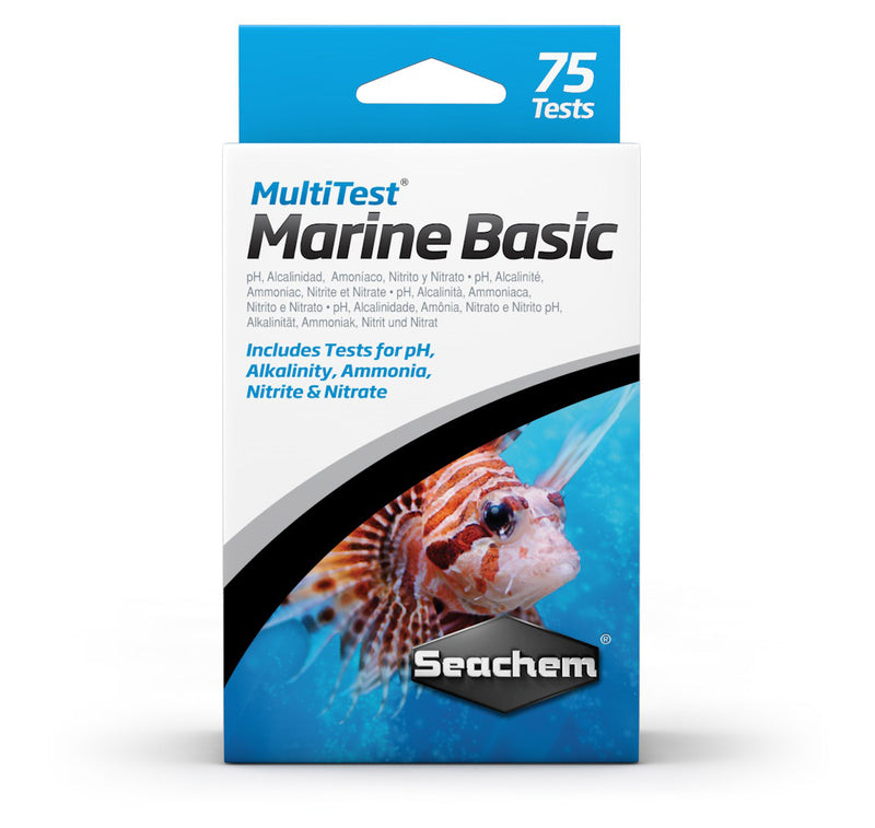 Seachem Multitest Marine Basic - RBM Aquatics