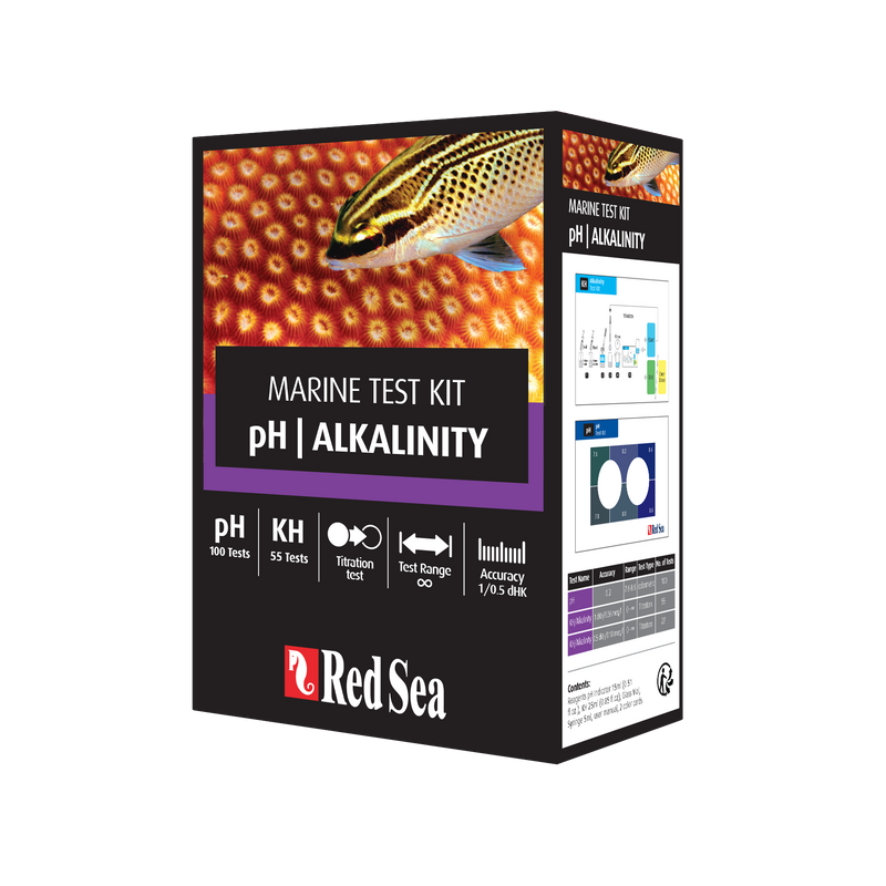Red Sea Mcp Ph / Alkalinity Marine Test Kit - RBM Aquatics