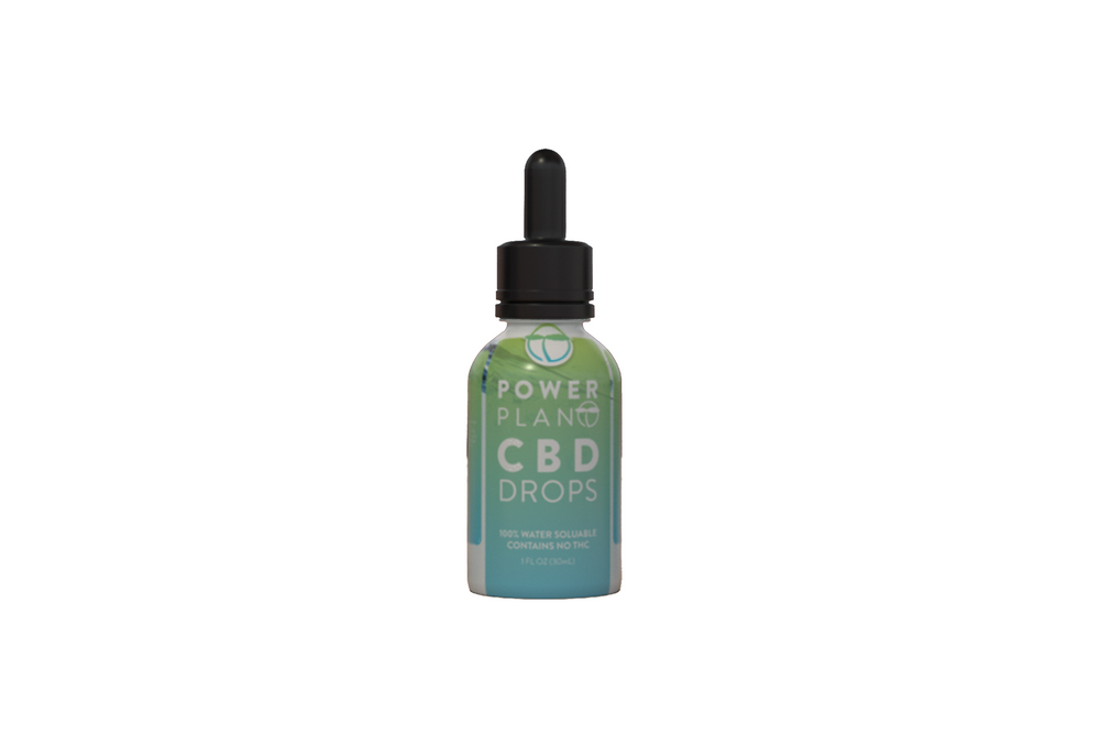 Peppermint CBD Drops (CBD Isolate)
