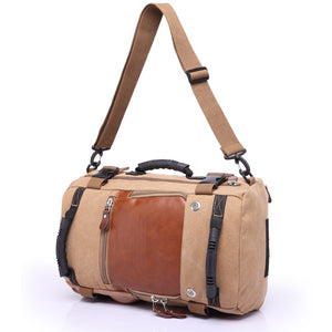Retro Travel Rucksack