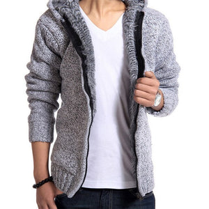 Manhattan Woll-Strickjacke