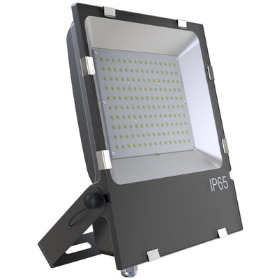 100W LED OUTDOOR AREA FLOOD LIGHT W/TRUNNION MOUNT -BLACK 'DLC' IP65 - CommerciaLight Distributors