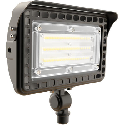 50W LED OUTDOOR FLOOD AREA LIGHT 'DLC' IP65 - CommerciaLight Distributors