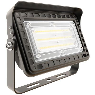30W LED OUTDOOR FLOOD AREA LIGHT 'DLC' IP65 - CommerciaLight Distributors