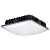 70W LED LOW PROFILE SQUARE CANOPY LIGHT-BRONZE IP65 - CommerciaLight Distributors