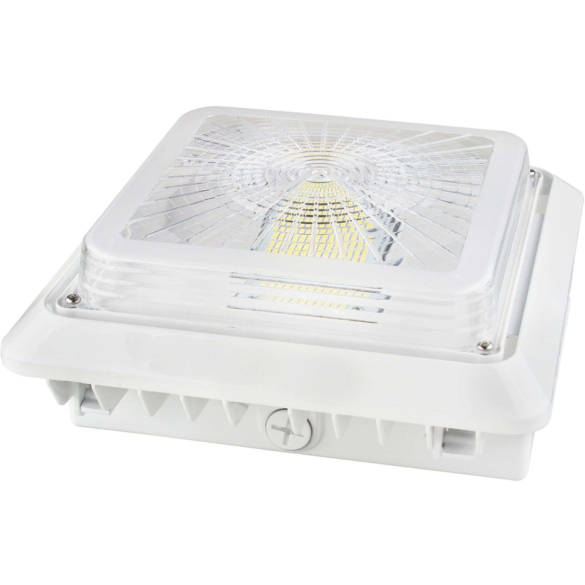 55W LED CANOPY LIGHT-WHITE 'DLC' IP65 - CommerciaLight Distributors