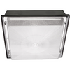 40W LED LOW PROFILE SQUARE CANOPY LIGHT-BRONZE IP65 - CommerciaLight Distributors