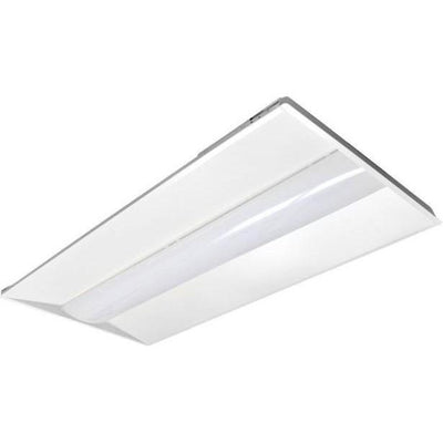 2'x4' 33W-50W CCT/Wattage Tunable LED Troffer 'DLC' - CommerciaLight Distributors