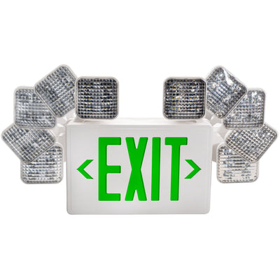 LED GREEN EXIT & EMERGENCY COMBO - CommerciaLight Distributors