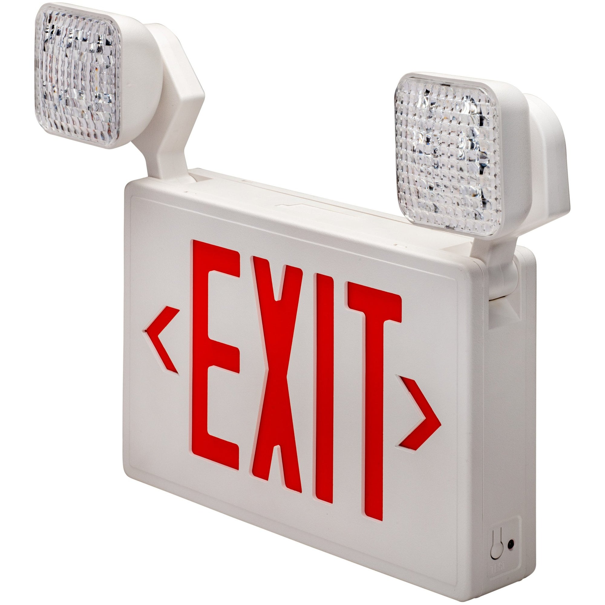 LED RED EXIT & EMERGENCY COMBO - CommerciaLight Distributors