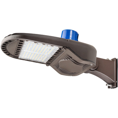 150W LED OUTDOOR POLE MOUNT AREA LIGHT W/MS-TYPE 3  'DLC' IP65 - CommerciaLight Distributors