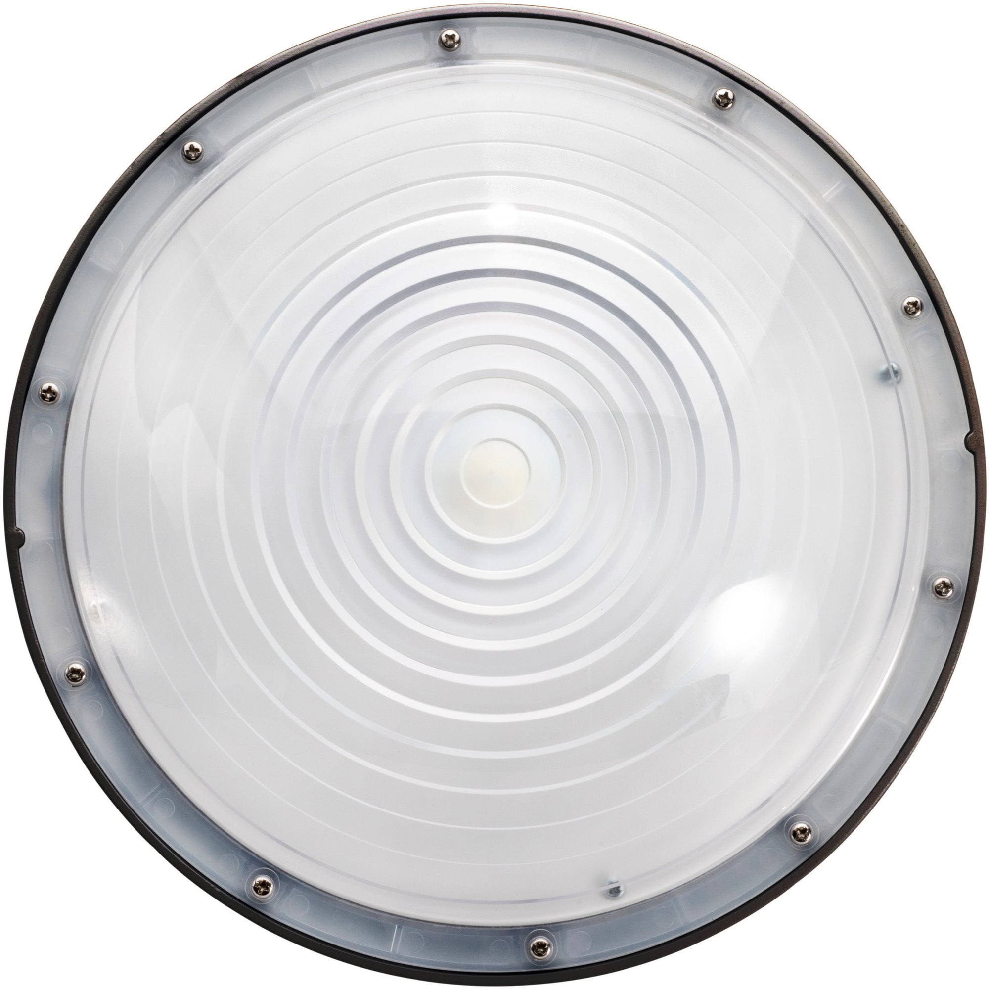 60W LED ROUND CANOPY LIGHT-BRONZE 'DLC' IP65 - CommerciaLight Distributors