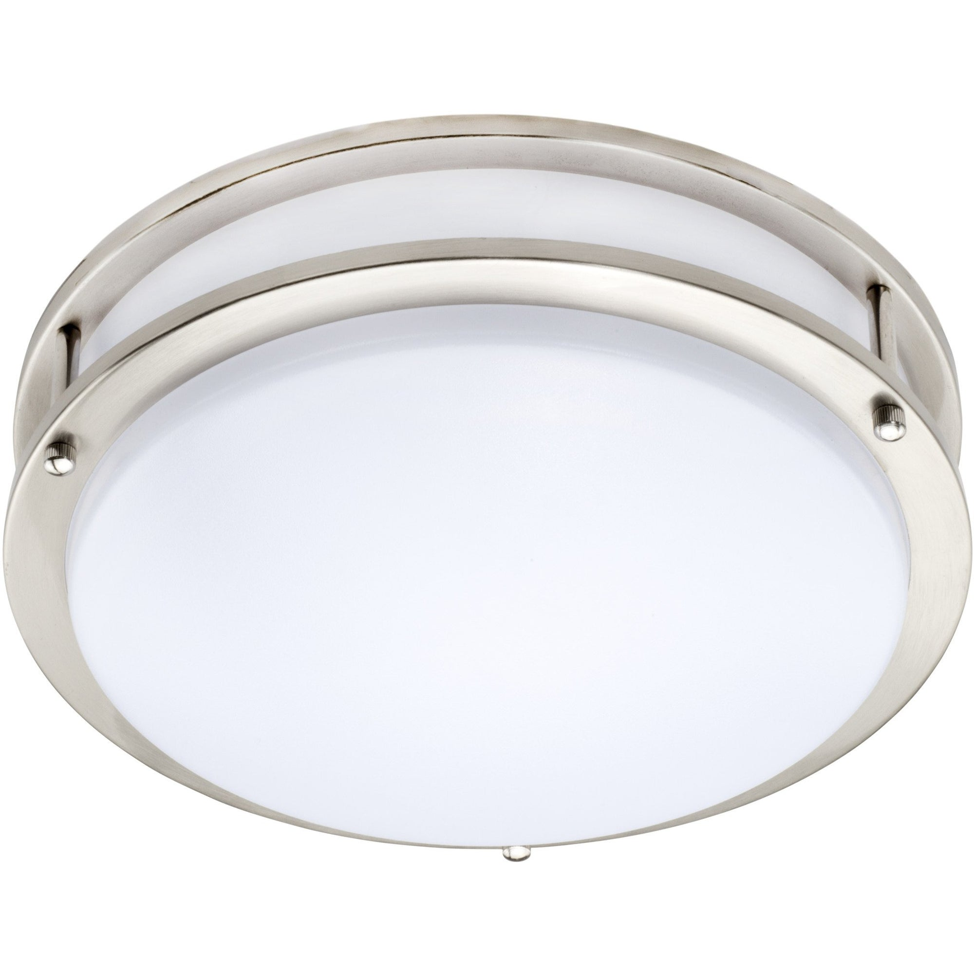 "12"" 20W DIMMABLE ROUND DECO FLUSH MOUNT LIGHT 3000K 'ES' - CommerciaLight Distributors"