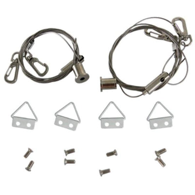 CABLE MOUNTING KIT FOR 2'x4' LED FIXTURES - CommerciaLight Distributors