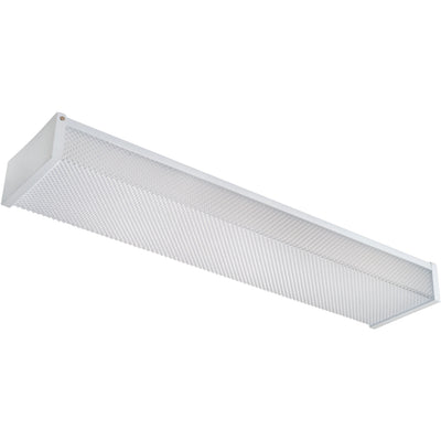 20W 2' PRISMATIC LENS WRAP LIGHT FIXTURE 5000K 'DLC' - CommerciaLight Distributors