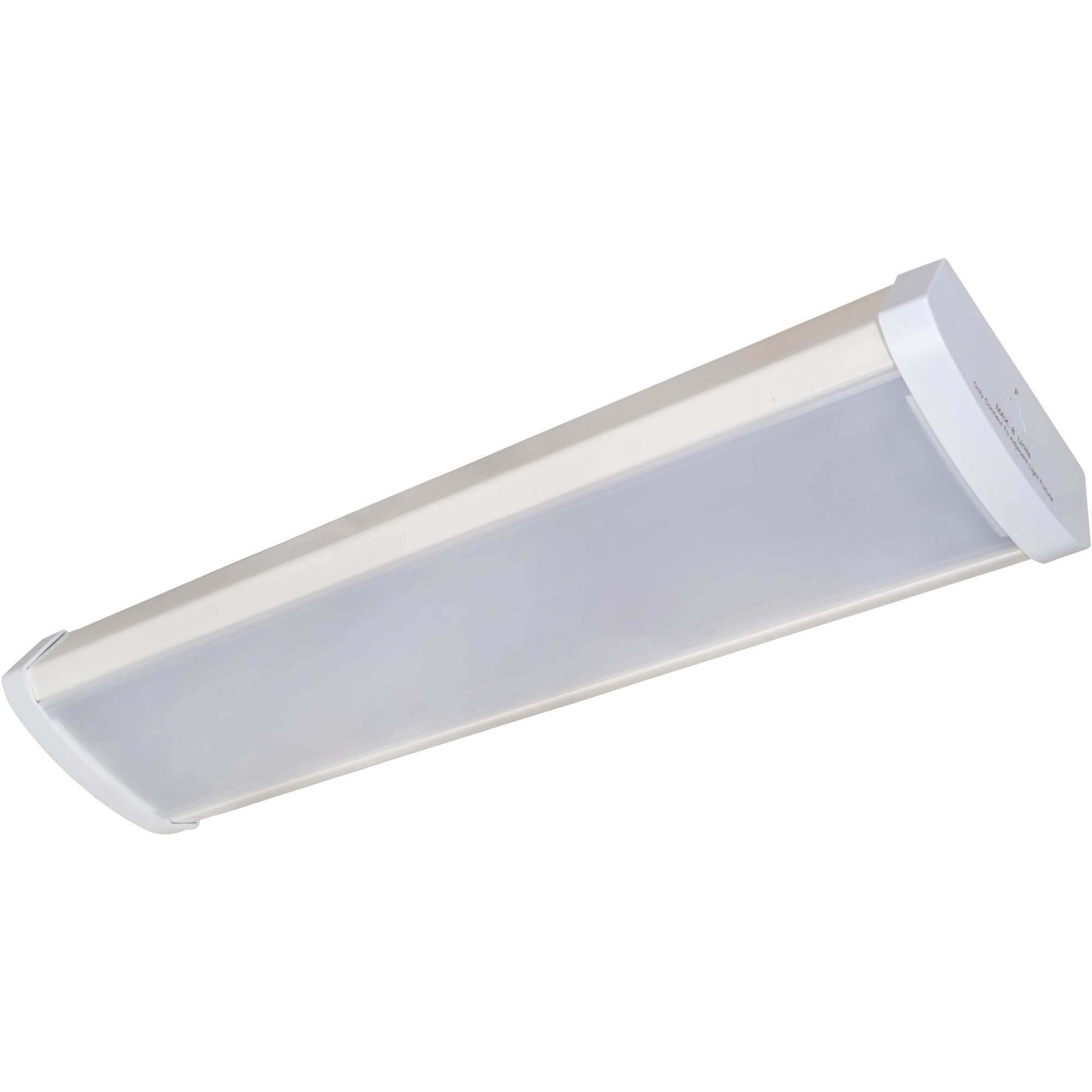 25W 2' FROSTED WRAP LIGHT FIXTURE 4000K 'DLC' - CommerciaLight Distributors