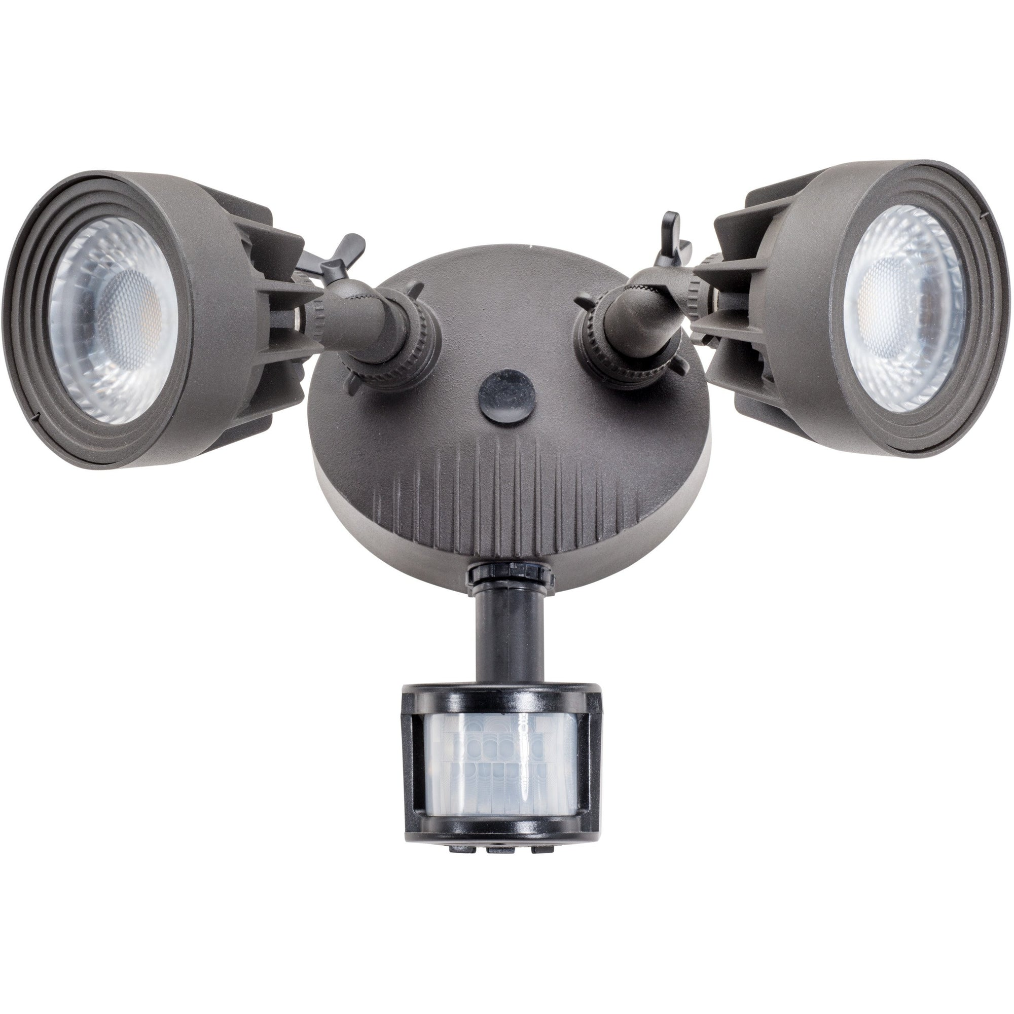 LED 24W SECURITY LT W SENSOR -BLK (DARK BRONZE) - CommerciaLight Distributors