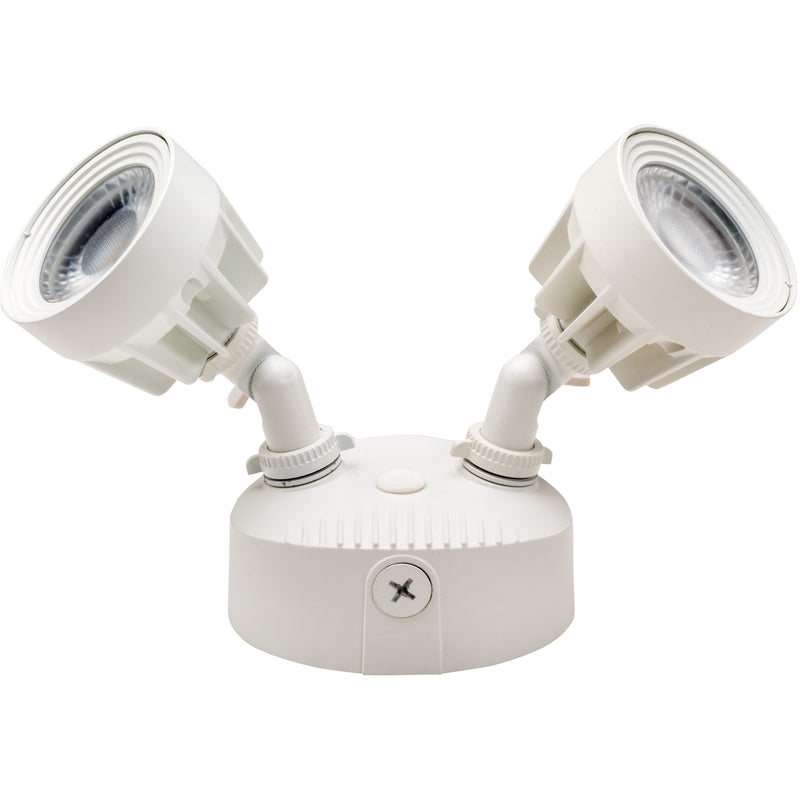 LED 24W SECURITY LIGHT WHITE FINISH - CommerciaLight Distributors