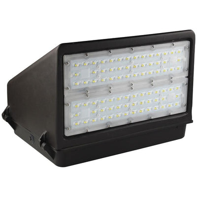 100W LED FULL CUT-OFF WALLPACK -BRONZE 'DLC' DARK SKY - CommerciaLight Distributors