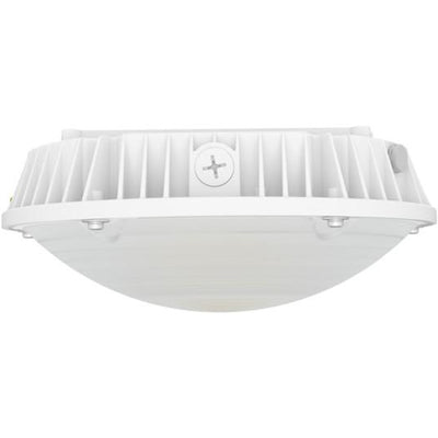 30W LED ROUND LED CANOPY LIGHT-WHITE 'DLC' IP65 - CommerciaLight Distributors