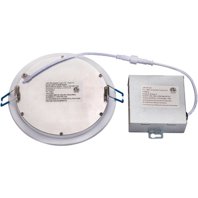 "14W 6"" ROUND LED SLIM DOWNLIGHT 4000K 'ES' - CommerciaLight Distributors"