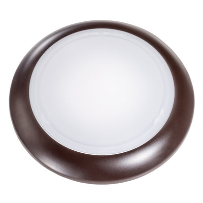 "4"" 12W DIMMABLE BRONZE DISK LIGHT 3000K 'ES' - CommerciaLight Distributors"