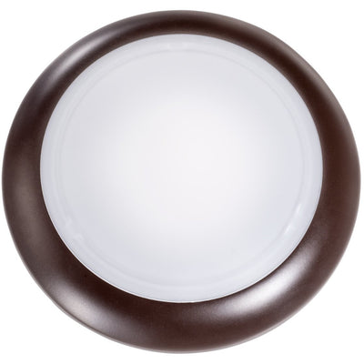 "6"" 15.5W DIMMABLE BRONZE DISK LIGHT 3000K 'ES' - CommerciaLight Distributors"