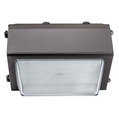 100W LED DIMMABLE HE WALLPACK -BRONZE 'DLC' - CommerciaLight Distributors