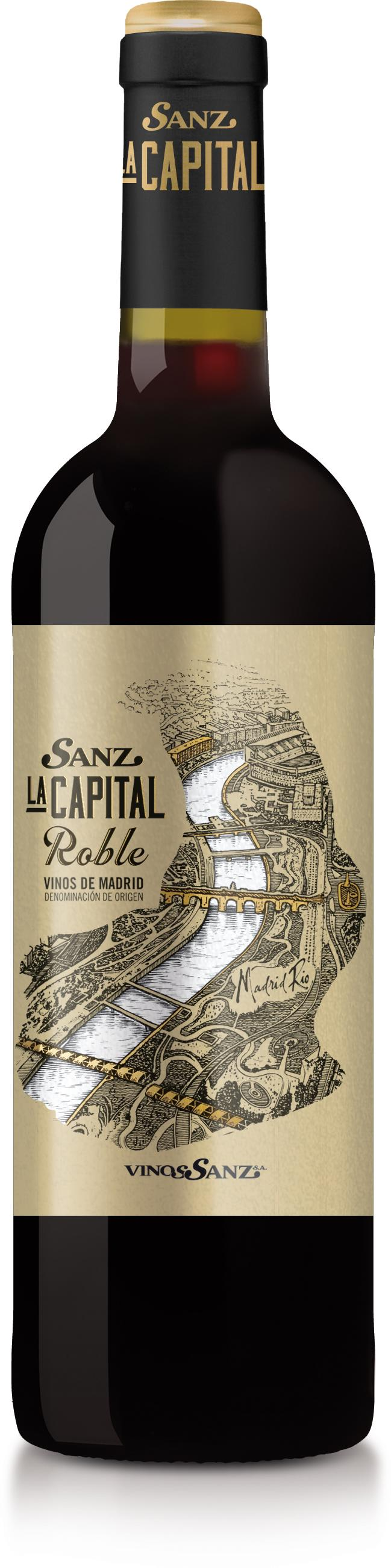 Sanz La Capital Roble 2017- Caja de 6 botellas de 75 cl.