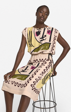 Load image into Gallery viewer, Olivia Printed Midi Dress