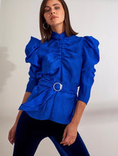 Load image into Gallery viewer, Electric Blue Blouse
