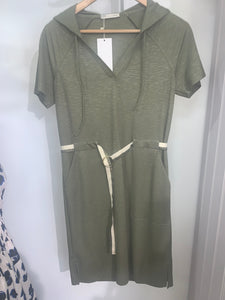 Fifi Khaki green dress