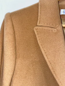Short Camel Coat