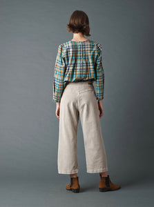 Wide Crop Trousers