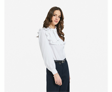 Load image into Gallery viewer, White Poplin shirt